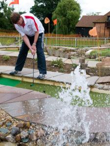 Avoiding the water hazard