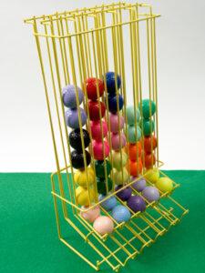 Crazy golf balls & dispenser