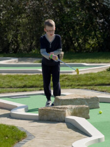 Great for improving your putting skills